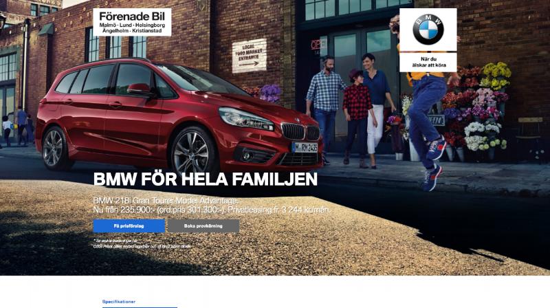 Kampanjsida: Förenade Bil