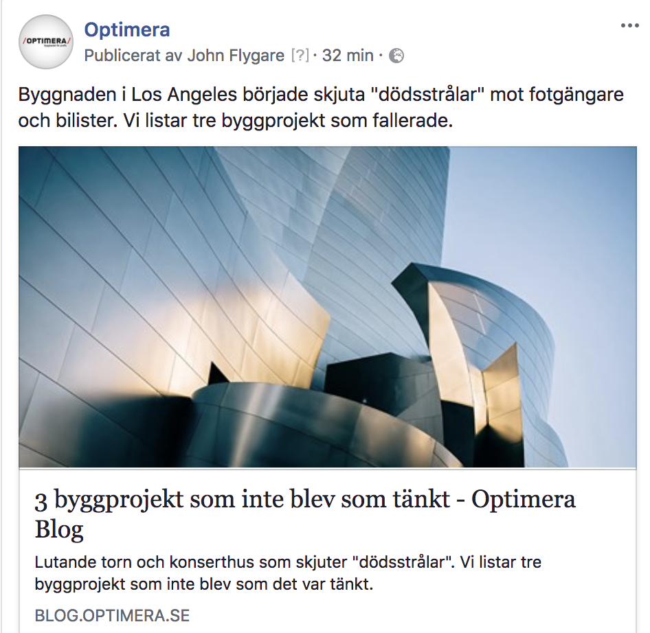 Content: Optimera