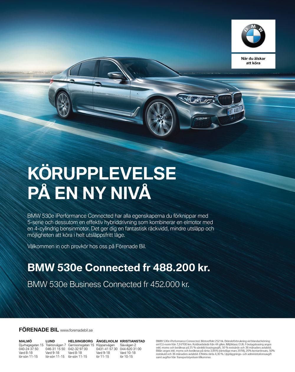 Printannons: Förenade Bil | BMW