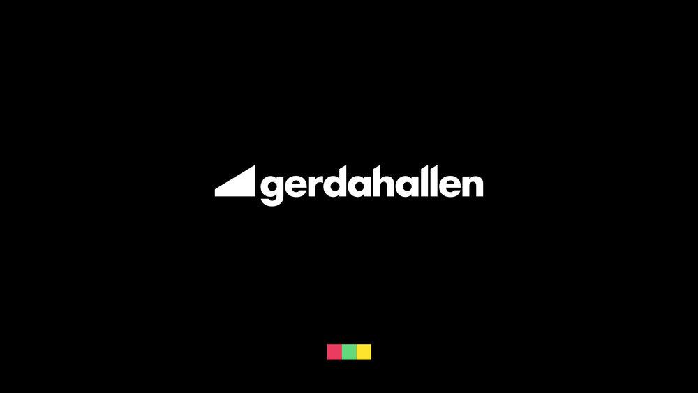 Gerdahallen: Ny identitet & grafisk profil