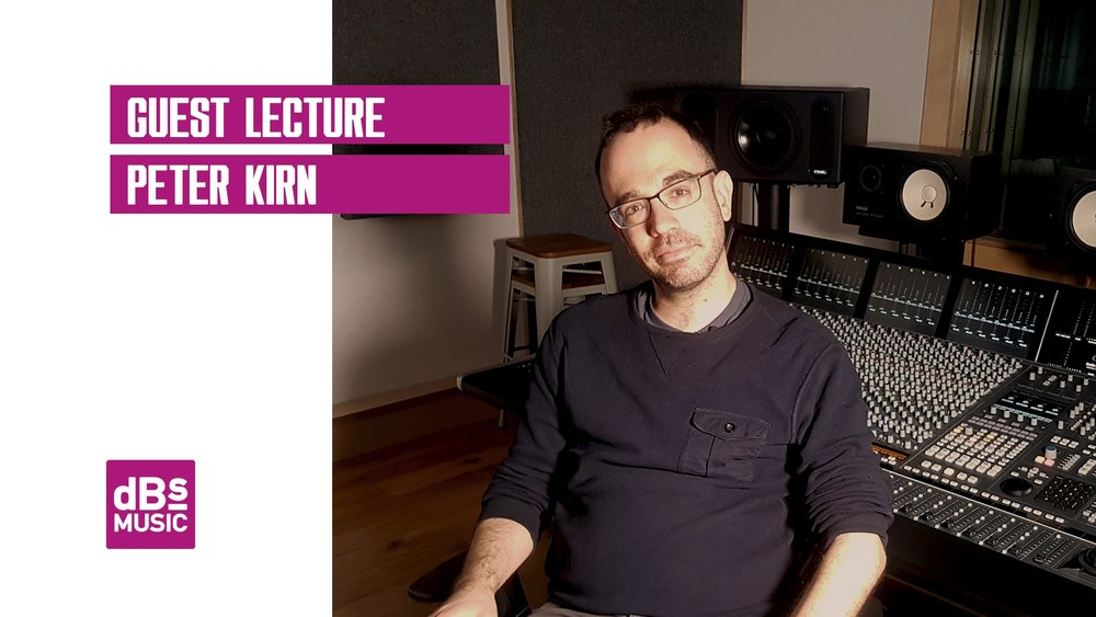 Guest lecture from the creator of CDM, Peter Kirn.