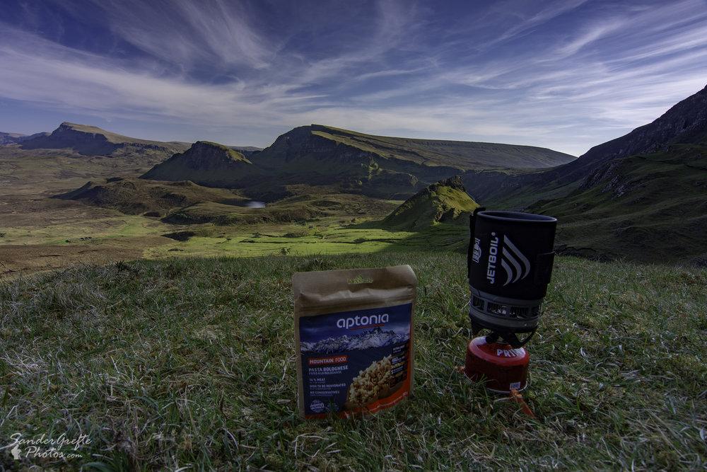 Heerlijk diner met dito uitzicht (Nikon D7200, 12mm, iso 100, f11, 1/25s)