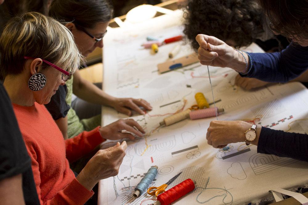Brixton Sampler Workshop 2017