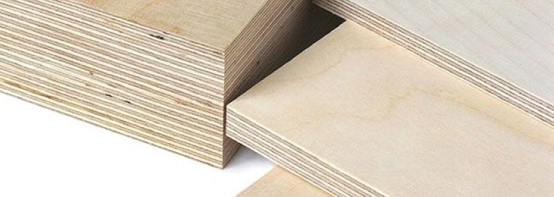 Birch plywood samples