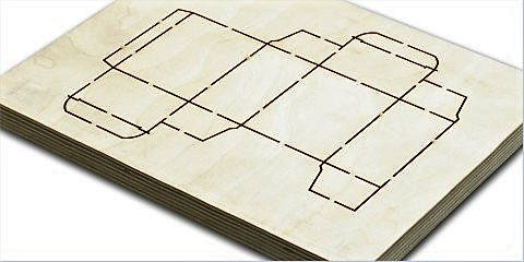 Laser plywood