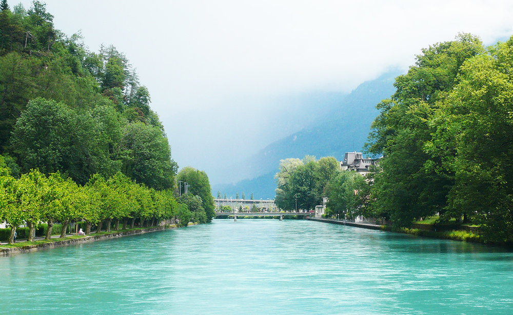 Aare River.  Image Source