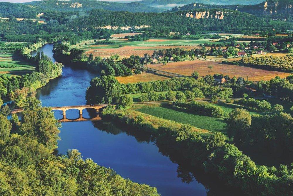 Overlooking the Garonne River in Bordeaux.