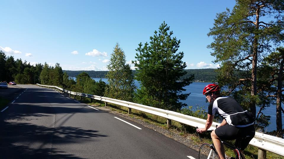"""I'd done a few charity rides but the opportunity to cycle in Norway was too good to pass up, it turned out to be my favourite of them all - the scenery, people and the fun we had along the way were unrivalled"""