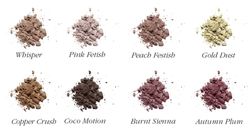 Inika Loose Mineral Eyeshadows