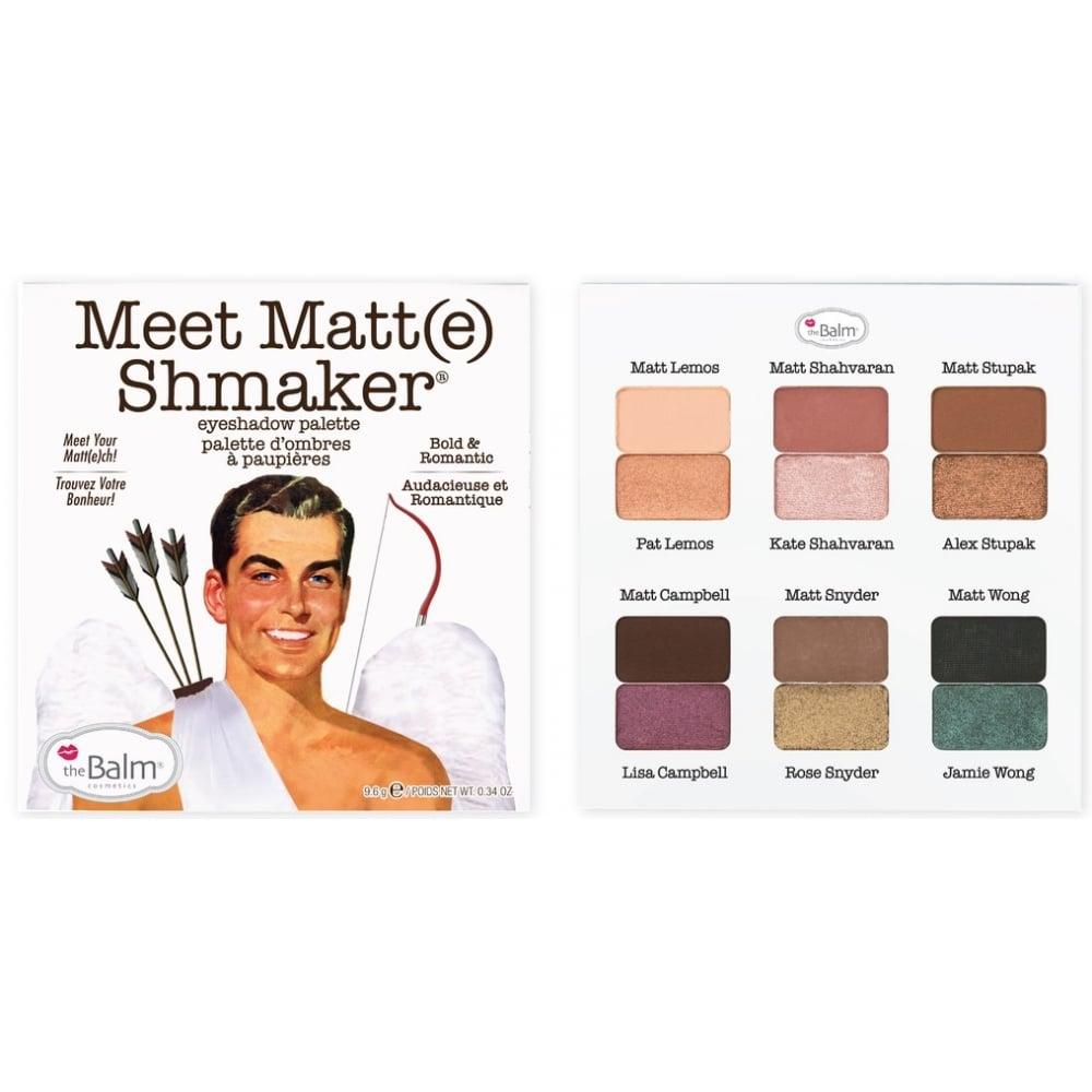 theBalm Meet Matt(e) Eyeshadow Palettes
