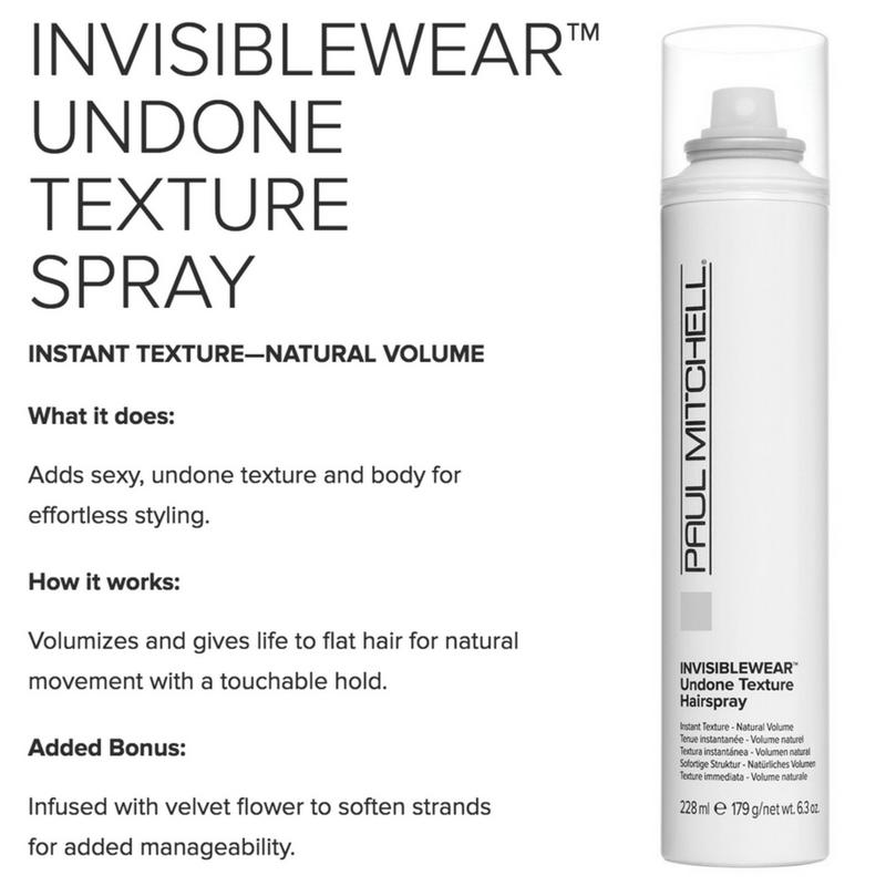 Invisiblewear Undone Texture Spray