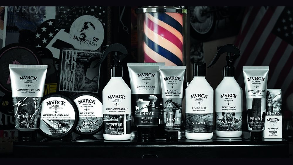 MVRCK - Citrus, Agave, and Cedar oh my! Not to mention Barley Seed Extract and Sandalwood too!The latest Men's line from Paul Mitchell includes shaving, beard maintenance, and hair products.
