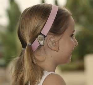 Softband bone conduction hearing aid -