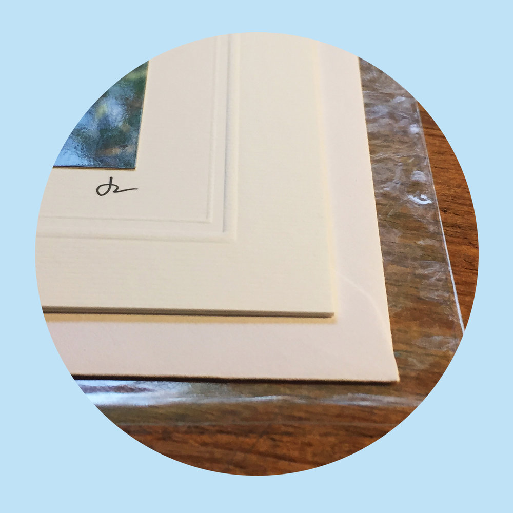 Packaging   Every card is blank for your personal message and comes with its own envelope and clear protective sleeve.