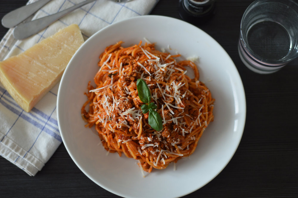 Simple Beef Bolognese