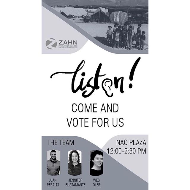Supports your fellow Spitzer friends and vote for them today in the NAC #ZahnCenter