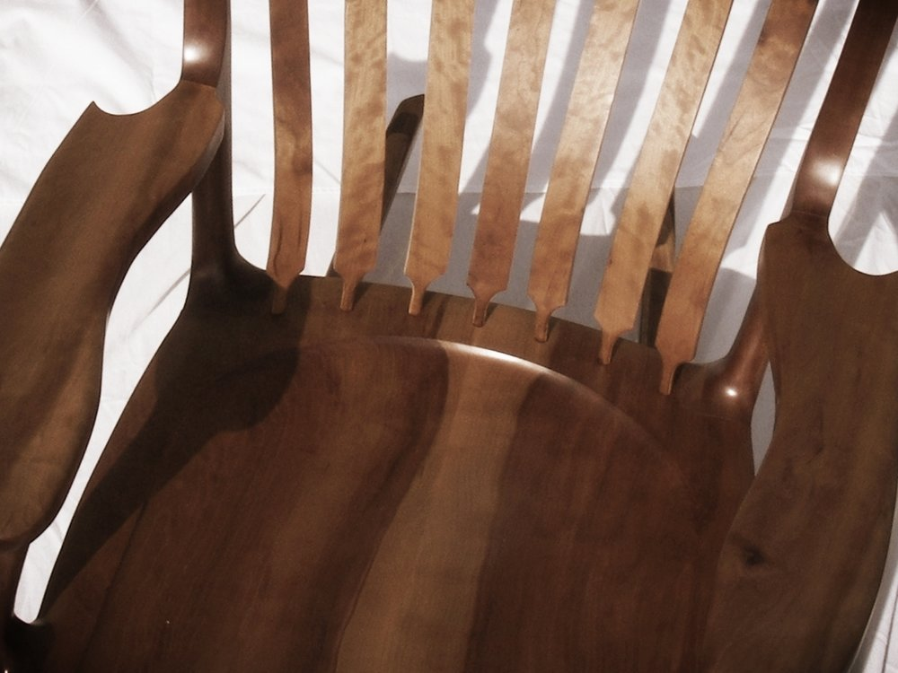 Artisan-quality rocking chairs (Hal Taylor design)