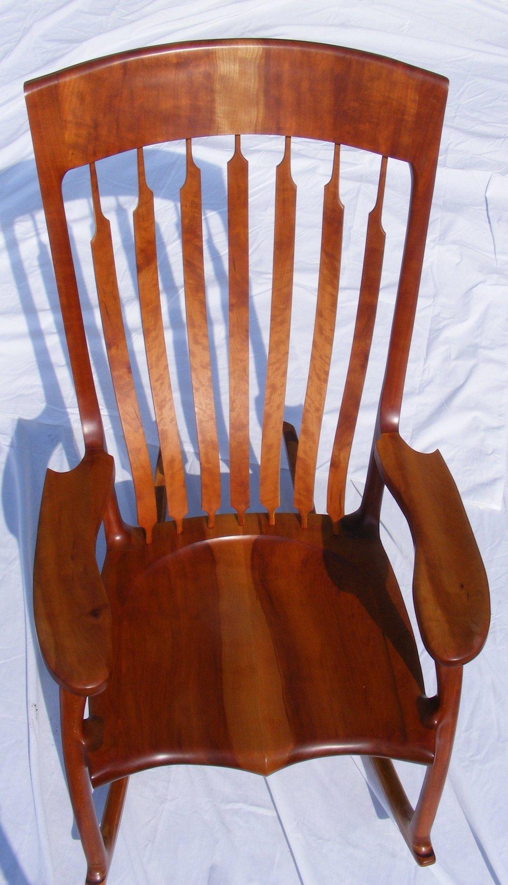 Cherry rocking chair 2010 004.JPG