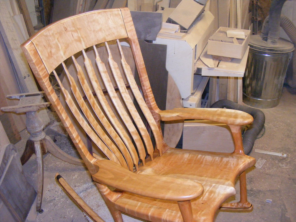 Inquire About A Custom Rocking Chair