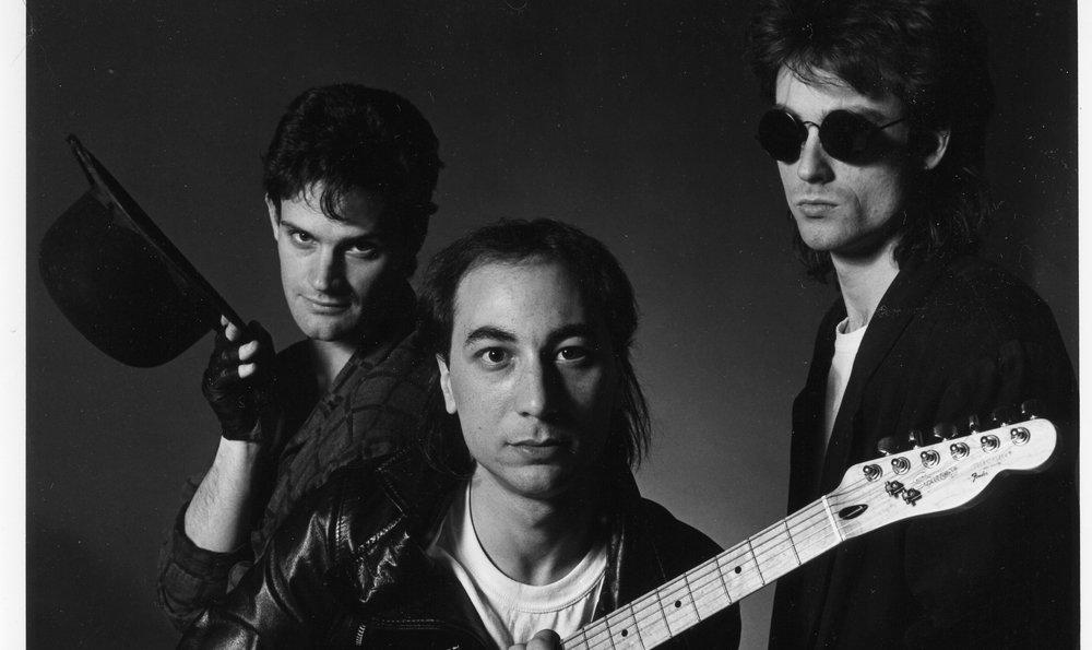 L-R: Geoffrey Finch, Robert Ranaldi, Ken Ashdown