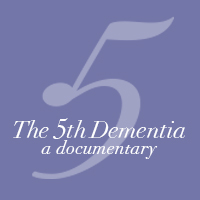5th Dementia square icon logo