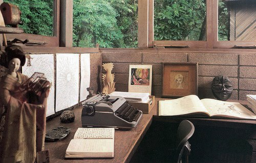 Anais nin's space is very meditative