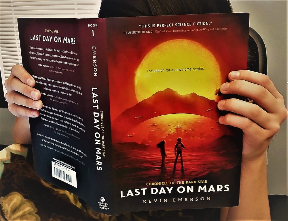 Click here to read more! - Last Day on Mars: Finally, a good science fiction title for YA readers.