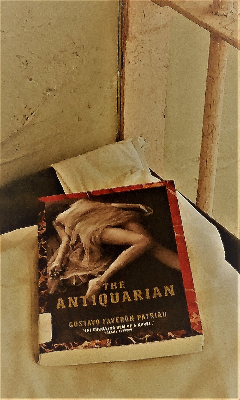 (Click the image to purchase the book) I took this picture in a mock-up of an alcatraz cell in a hotel in San Francisco the day before I was able to tour alcatraz.  There were a lot of tourists taking photos...They gave me plenty of room as I began staging and taking pictures of this book...lol