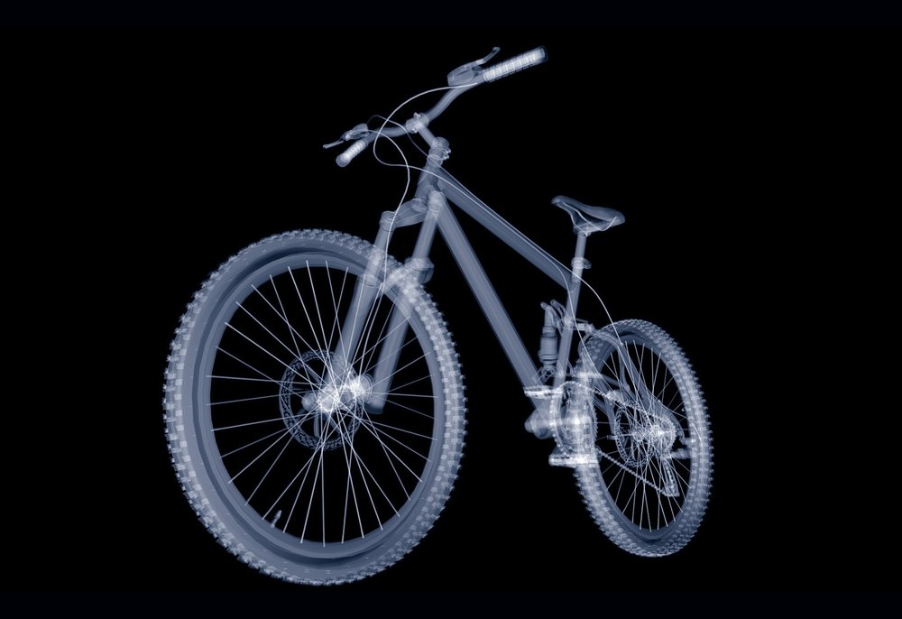A 3D Rendering of a Mountain Bike