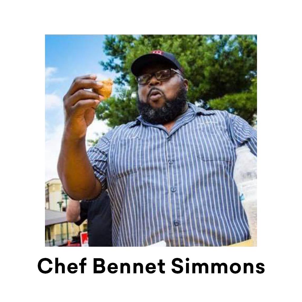 Chef Bennett Simmons for Louisiana Street Food Festival