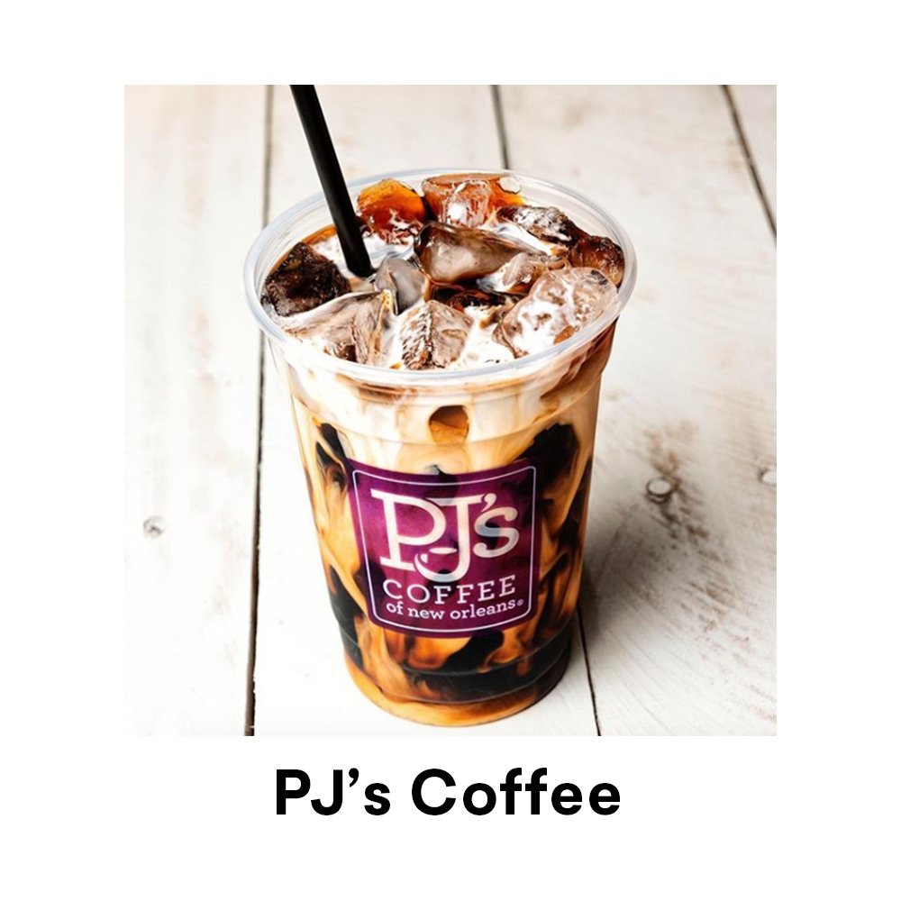 PJ's Coffee New Orleans for Louisiana Street Food Festival