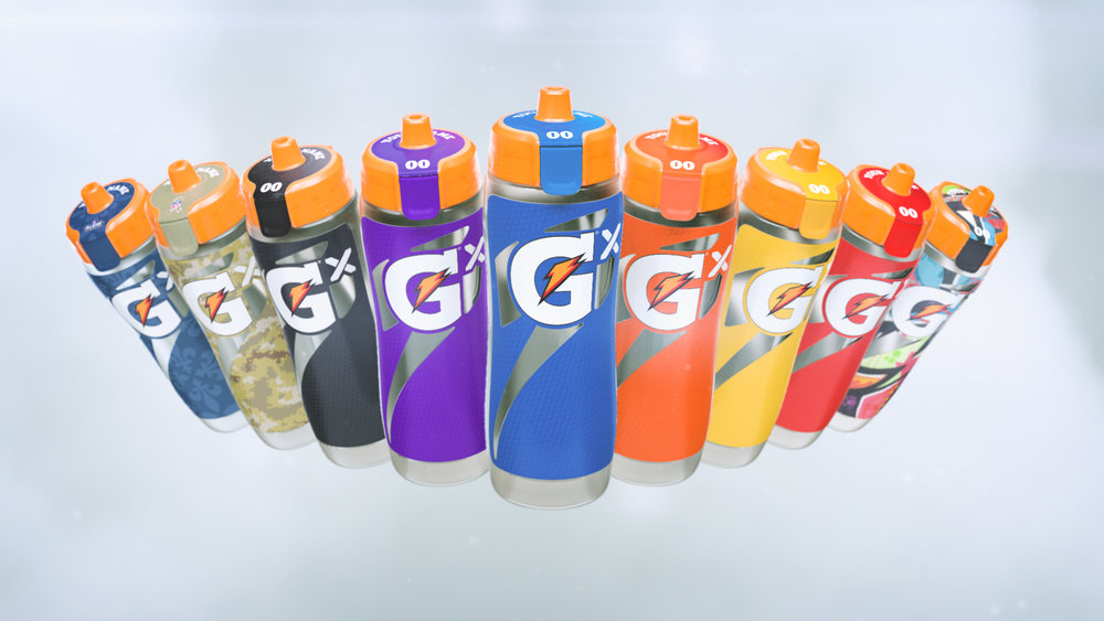 Gatorade Gx Colors