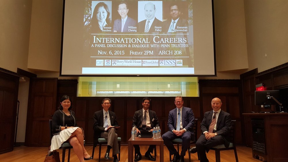 International Career Panel by the A&E Committee