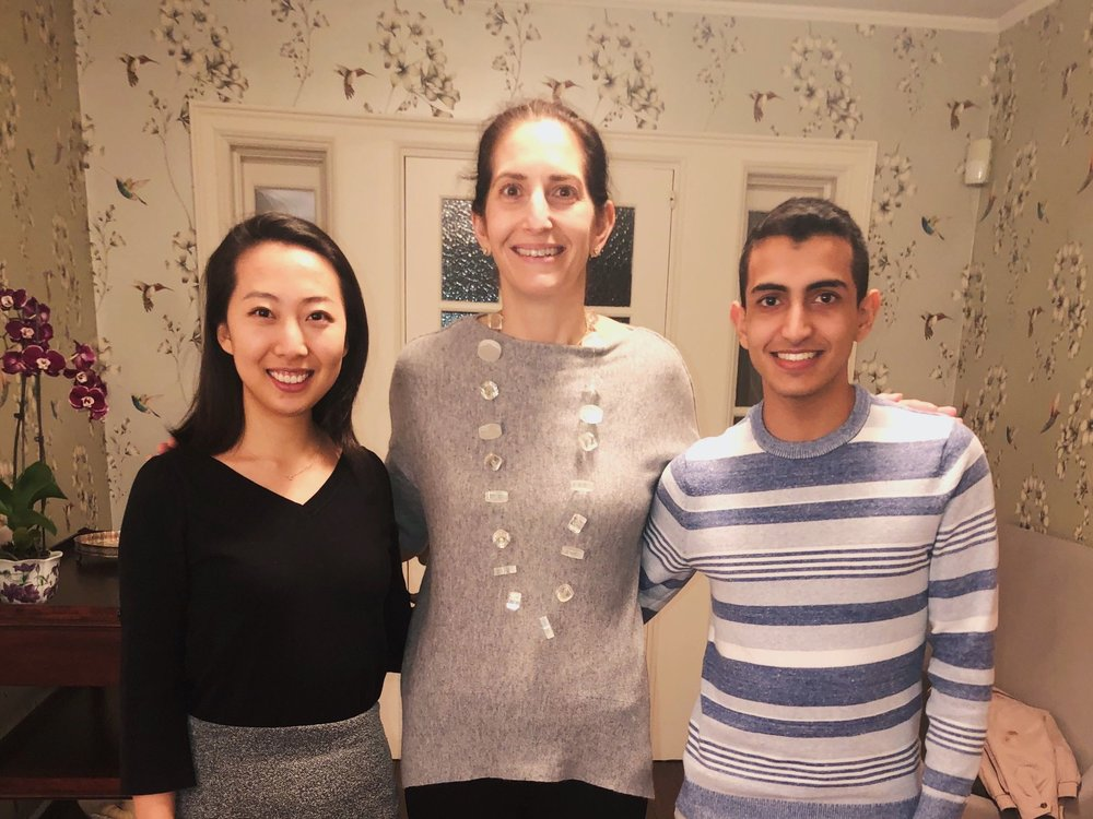 """Thanksgiving Meal - The Assembly of International Students piloted the """"Thanksgiving Meal"""" program this year to connect students with Penn faculty/staff members who have volunteered to welcome students into their homes over break and host them for a Thanksgiving meal."""