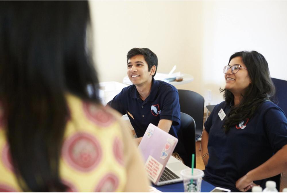 International Mentors at Work