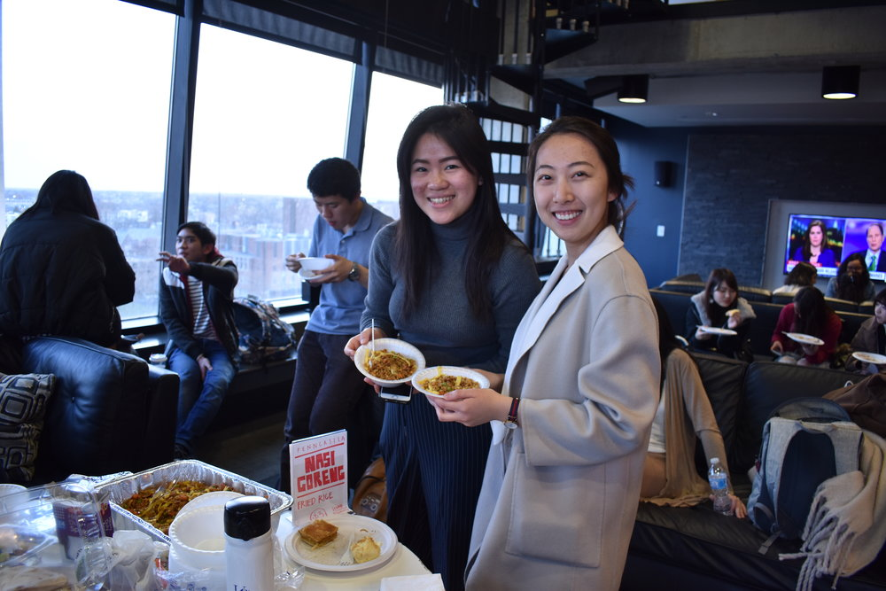 International Night Market - On April 4th, AIS organized an International Night Market with 7 of our wonderful affiliate cultural groups. Each group brought some food native to their home country for people to enjoy.
