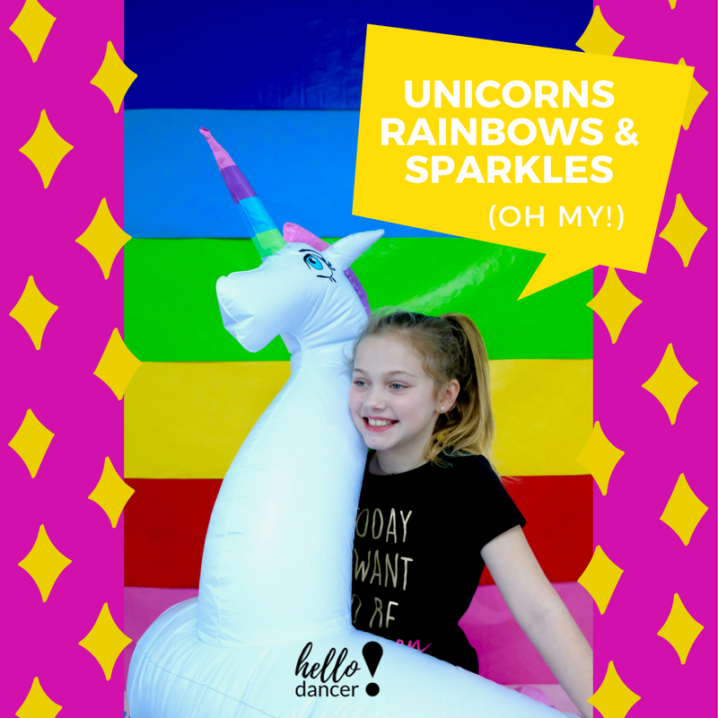 Unicorns, Rainbows, & Sparkles… Oh My!  ((Easter Camp)) - April 2nd-6th (EASTER CAMP)Ages 3-5 - 9:00-11:30am ($70 Early Bird/ $85 Regular) +$15 Act. FeeAges 5-12 - 9:00am-3:00pm ($130 Early Bird/$165 Regular)+$25 Act.FeeGet ready to put your true color on, hit the Rainbow Road, and show the world who you are!  You were born to standout and sparkle in this magical ballet and high energy hip hop dance camp (All age appropriate of course)!  This is a magic vibes only camp - sooo get ready for vibrant, glittering, crafts that will have you always believing in your uniself;)