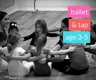 Ballet & Tap (Spring 2018)       - AGE 3-5Thursdays 5:30-6:15pmThis class is packed with twirls, wiggles, and giggles and is designed to enhance your child's motor, listening, and social skills. Children will love bringing to life fun stories through ballet and tap!