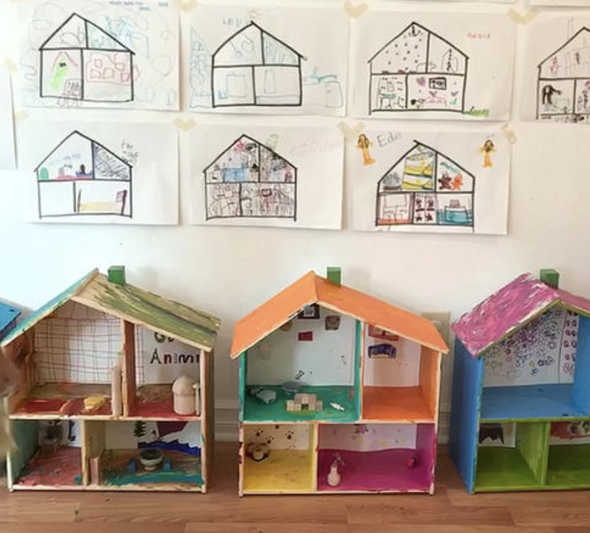 Arts & Crafts Time: - This week will be filled with designing and building your very own Dollhouse!Day 1: Design and Draw out your PlansDay 2: Put together the Dollhouse / Start PaintingDay 3: Paint and Decorate the InsideDay 4: Paint and Decorate the OutsideDay 5; Furnish and Accessorize the Dollhouse
