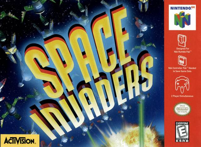 Space Invaders! - Invaders! possibly from space!