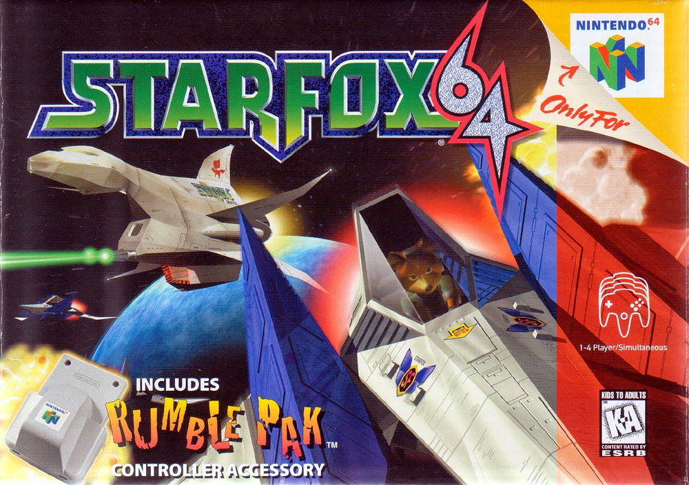 c6587291e5e1 It s time to head into deep space of the Lylat System with everyone s 3rd  favorite anthropomorphic furry space guardian. It s Star Fox 64!