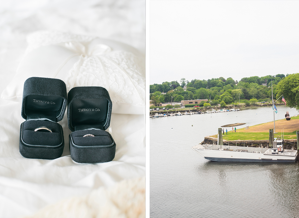 sara and mark's Greenwich CT wedding