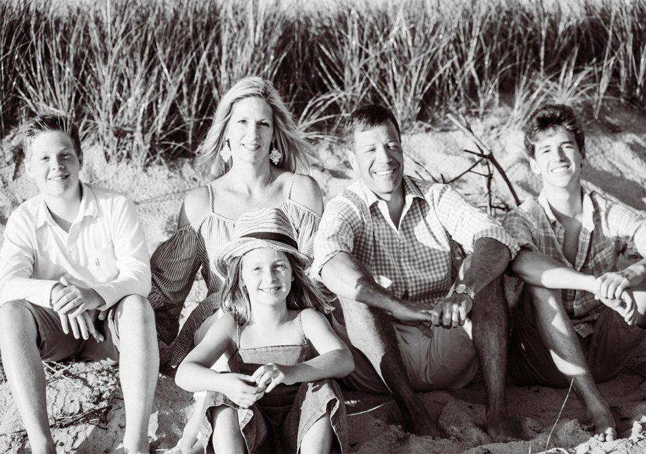 Family session in Nantucket