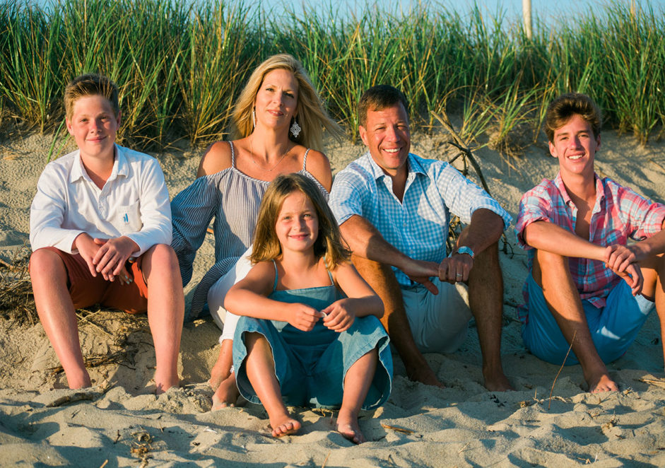 Family session on Nantucket