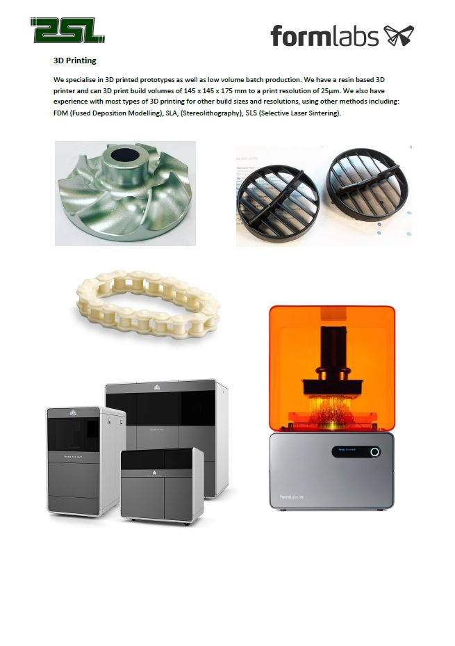 Click to Download PDF     3D Printing  This PDF contains information about our 3D Printing service