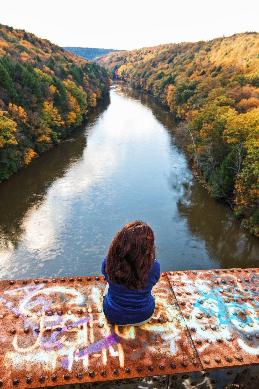 Clarion River Trestle - Pennsylvania