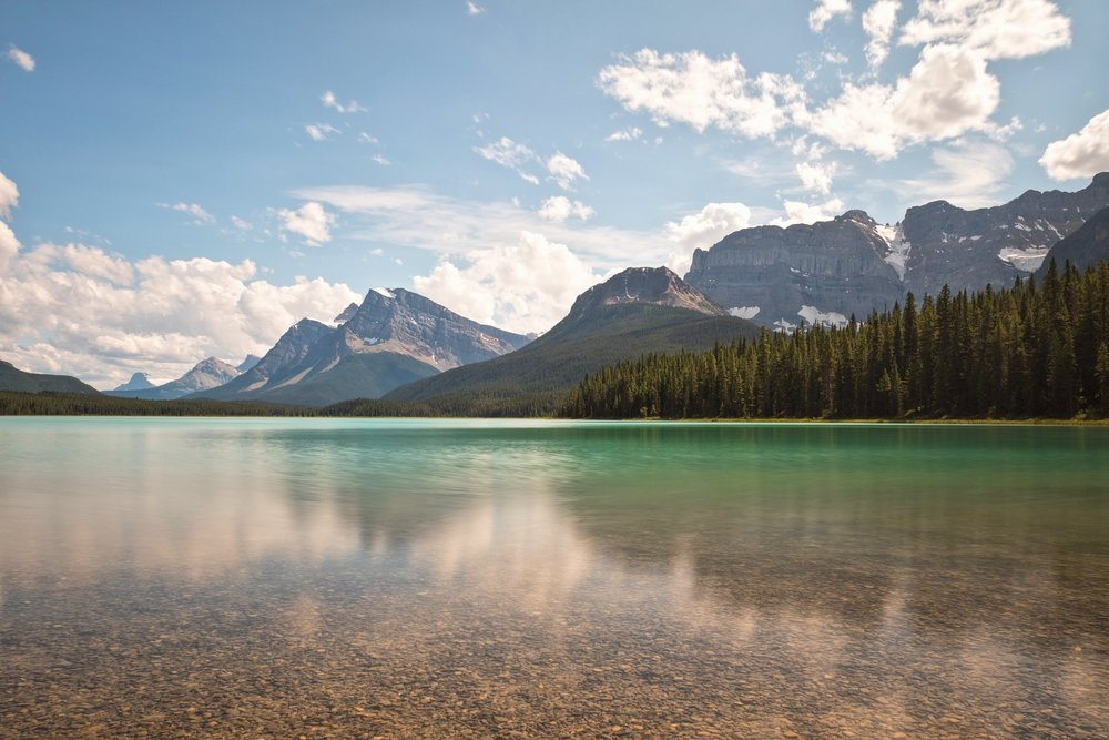 Waterfowl Lake - Banff National Park
