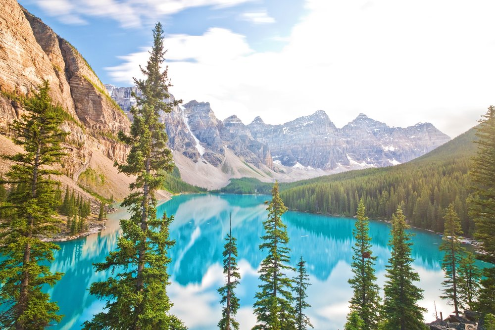 Moraine Lake - Banff National Park