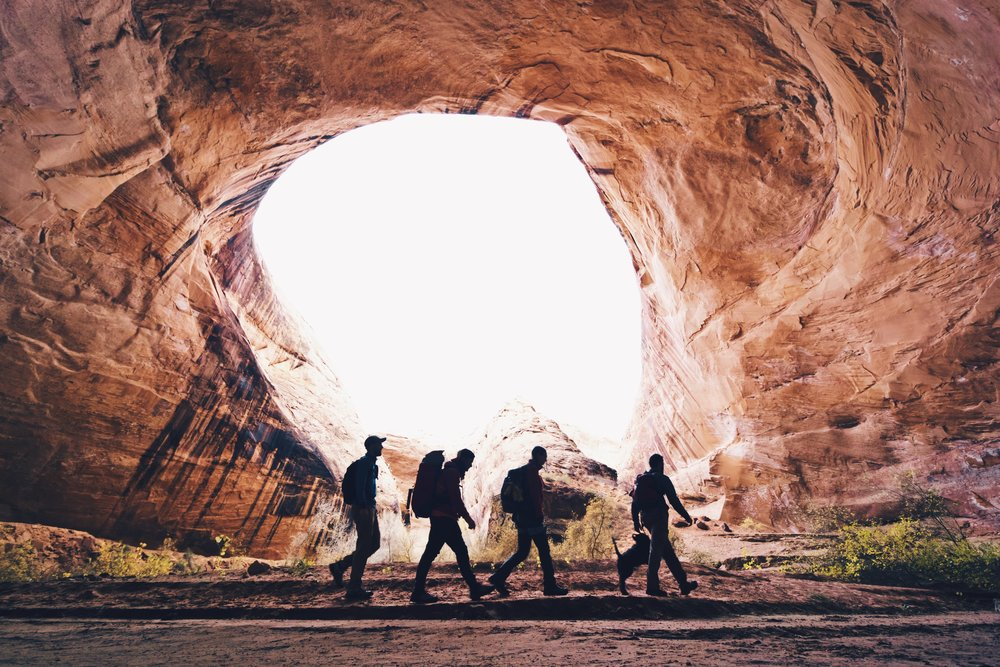 Jacob Hamblin Arch - Coyote Gulch - Escalante, Utah