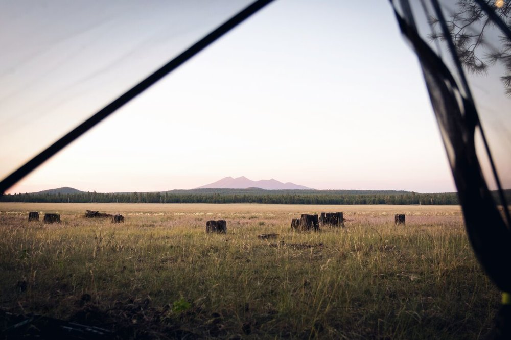 San Francisco Peaks outside of Flagstaff, AZ -